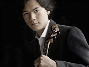 Stefan Jackiw will perform with the Toledo Symphony Friday and Saturday in the Peristyle.