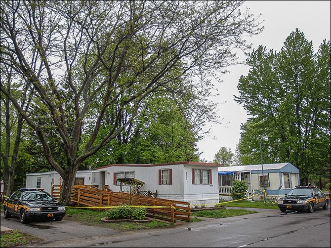 n6homicides-3 A fatal stabbing occurred Wednesday evening at the Royal Village mobile home park in Springfield Township. Officials allege that Judith Uyttenhove, 72, was stabbed in her mobile home.