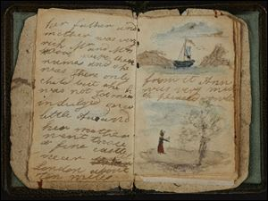 Charlotte Bronte's earliest known effort at writing, a short story written for Anne, the baby of the family. It is one of the hundreds of valuable literary resources the British Library is putting online, from the Bronte sisters' childhood writings to William Blake's notebook.