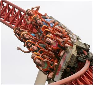 Cedar Point amusement park in Sandusky is a national attraction in northwest Ohio.
