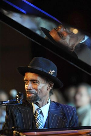 Jazz pianist Johnny O'Neal.