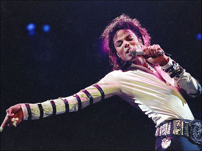 Michael Jackson-Hologram Lawsuit In this 1988 file photo, Michael Jackson performs during the opening of his 13-city U.S. tour.