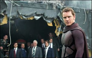 Michael Fassbender as Magneto in 'X-Men: Days of Future Past.'