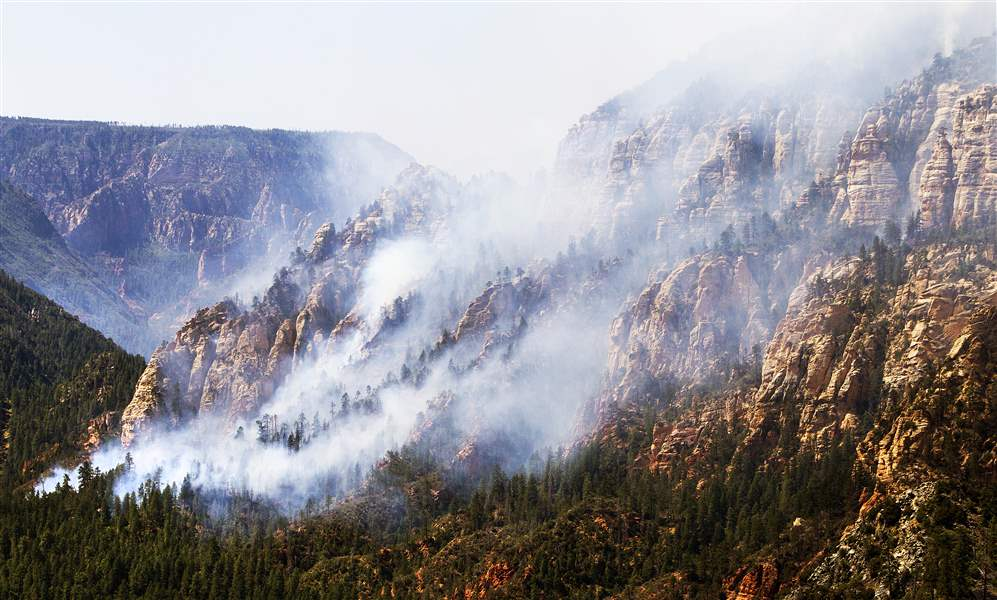 APTOPIX-Arizona-Wildfires