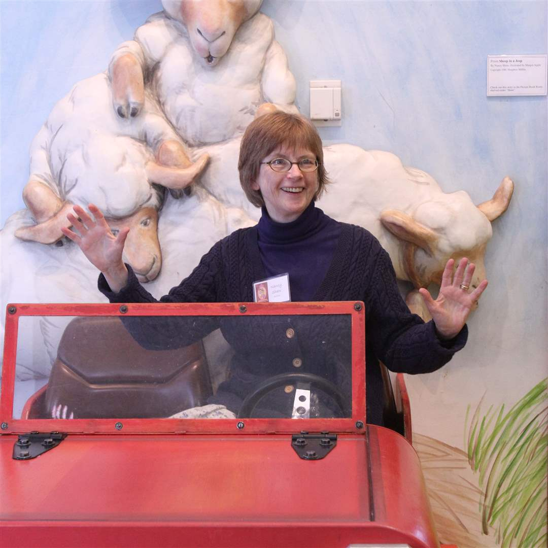 Nancy-Shaw-author-of-Sheep-in-a-Jeep