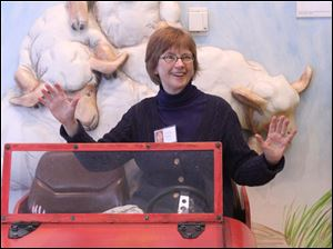 Nancy Shaw author of Sheep in a Jeep.