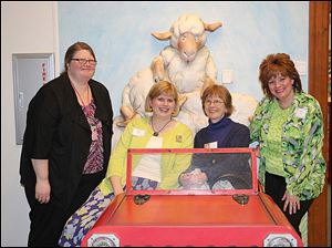 Left to Right, Cindy Vanderbrink, Nancy Eames, Nancy Shaw, and Mary Rava Miller
