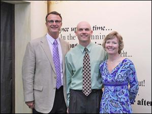 Brad & Julie Rubini with author Bryan Chick center.