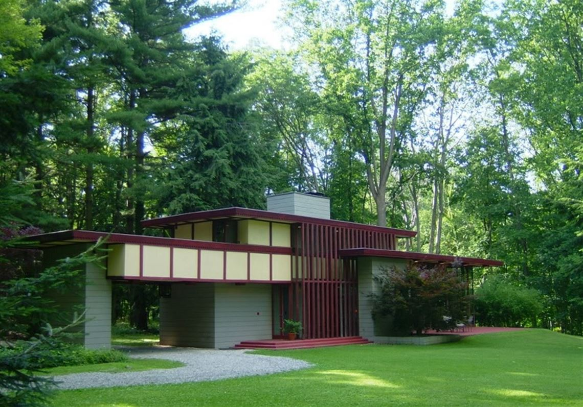 Ohio Home Designed By Frank Lloyd Wright On The Market Toledo Blade