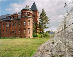 'Asylum: Inside the Closed World of State Mental Hospitals' opens Friday at the Wood County Historical Center and Museum. The exhibit features 20 color photographs, including this one of Matteawan State Hospital (now Fishkill Correctional Facility) in Beacon, N.Y., taken by Christopher Payne.