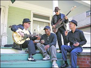 Buddy Boy Slim & the Blues Rockers will host an open blues jam at Griffin's Hines Farm on Saturday. The legendary blues club is reopening since the death of former owner Henry Griffin by his son, Steve Coleman.