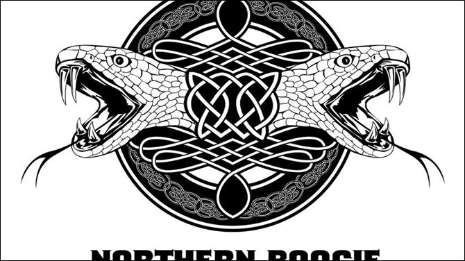 Northern Boogie graphic from Snake Head Rtual