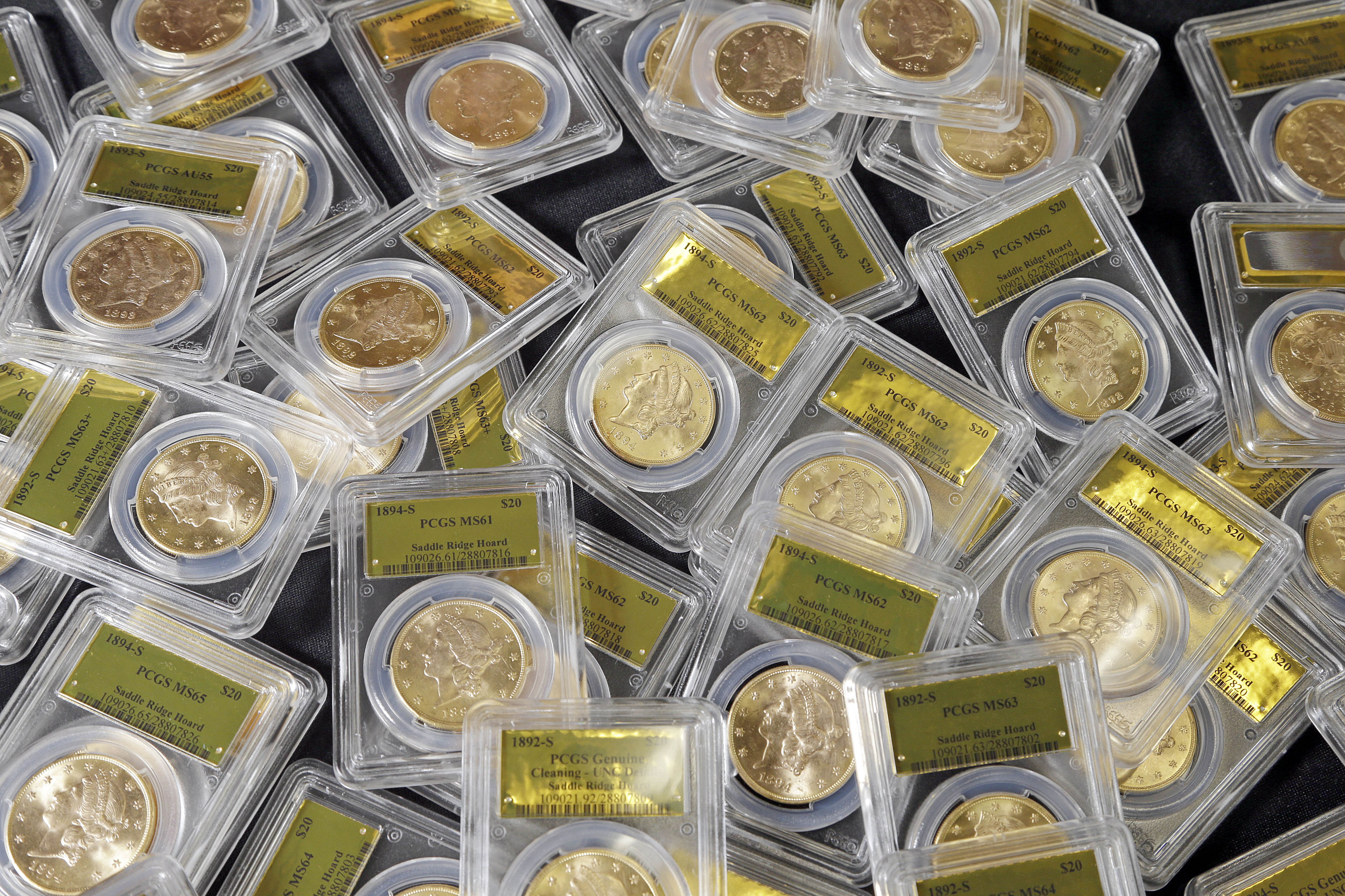 California couple's buried gold coins go up for sale ...