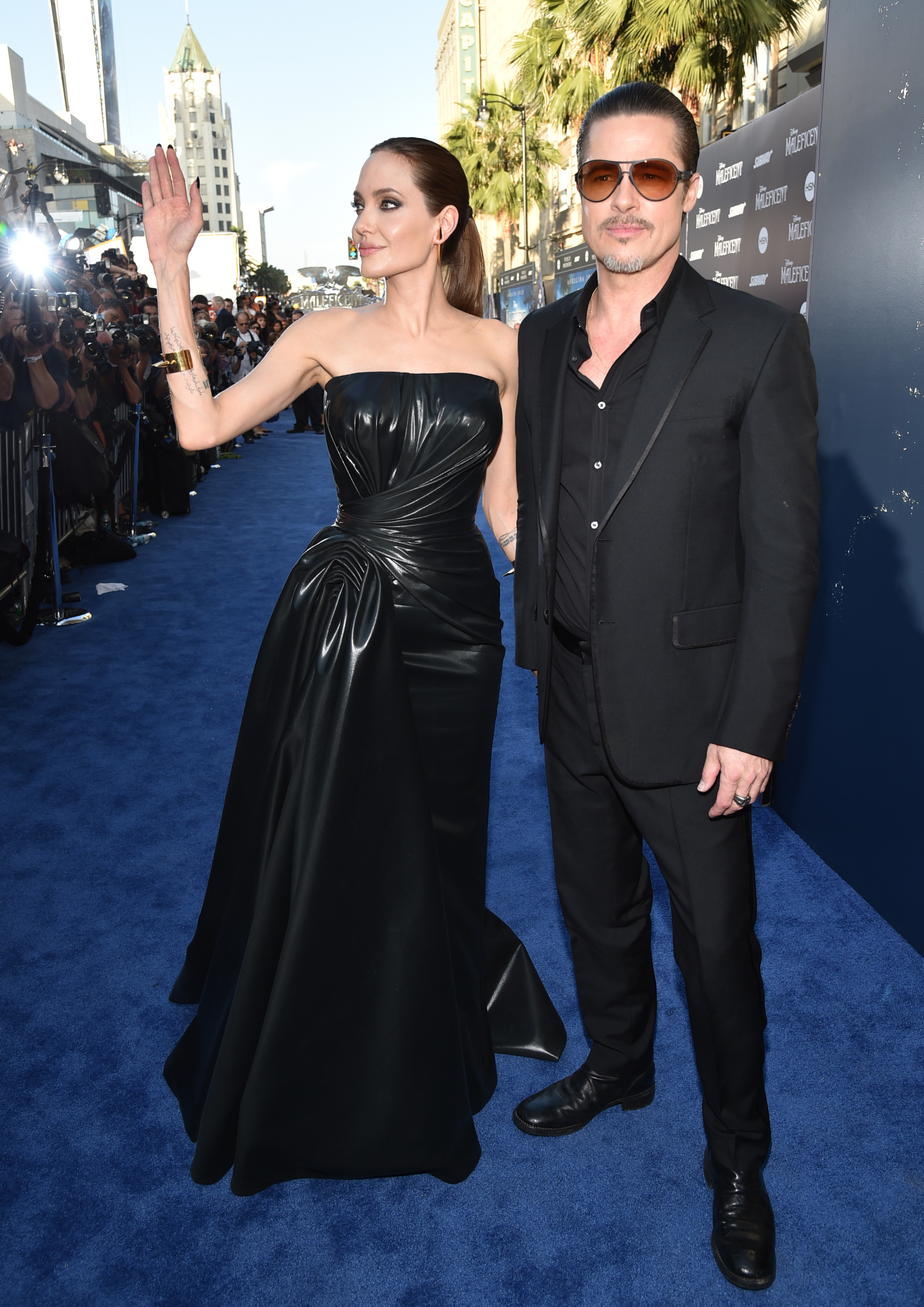 Brad Pitt Attacked At Maleficent Premiere The Blade