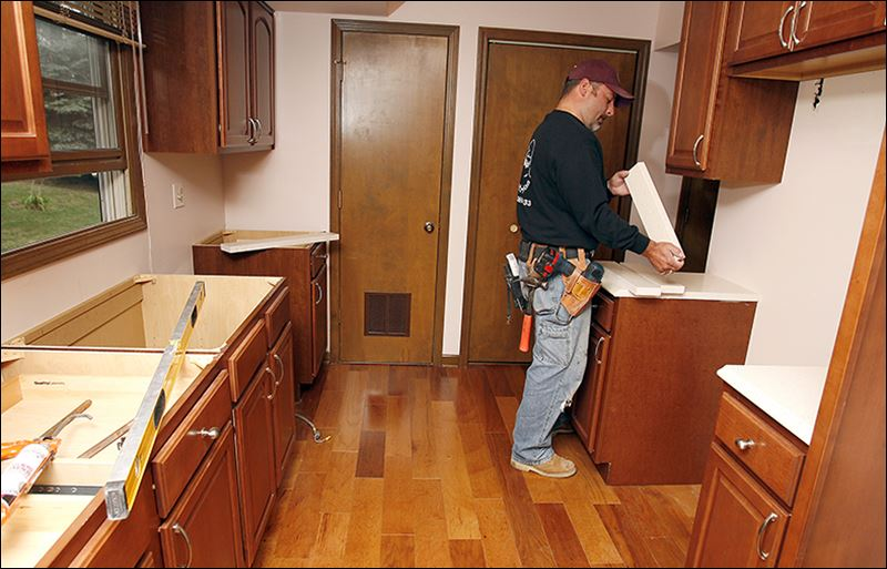 Fixer uppers bring some risk toledo blade for Kitchen renovation return on investment