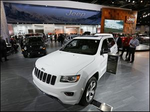 The Jeep brand sales set an all-time monthly sales record, with 70,203 vehicles sold in May.