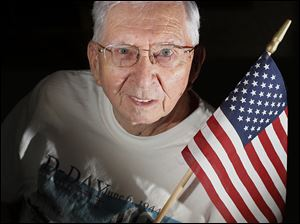 Clinton Longenecker was only 19 years old in 1944, and D-Day was his first time under fire. He went on to earn a Silver Star and suffer an injured arm.