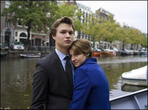Ansel Elgort and Shailene Woodley in a scene from 'The Fault in Our Stars.'