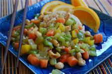 Vegetable-Cashew-Stir-fry