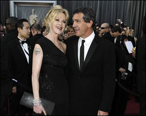Melanie Griffith filed for divorce from Antonio Banderas today in Los Angeles, citing irreconcilable differences as the reason for the end of their 18-year marriage.