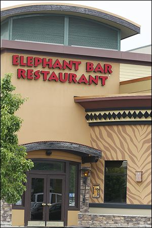 The Elephant Bar Restaurant's last day at Franklin Park Mall is to be Thursday.  The California-based chain had as many as 46 sites across nine states. After the closures, 29 sites — with 20 in California — are to stay open. The pan-Asian restaurant opened in the mall in 2006. The mall location has 30 employees.
