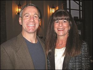 Stu and Jo-Jo Goldberg, are shown at a past fundraiser for the American Heart Association. Their recent fundraiser was in memory of Mr. Goldberg's late father, David Goldberg, and late friend John Cerutti.