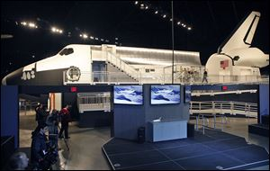 The Space Shuttle Exhibit at the National Museum of the United States Air Force.
