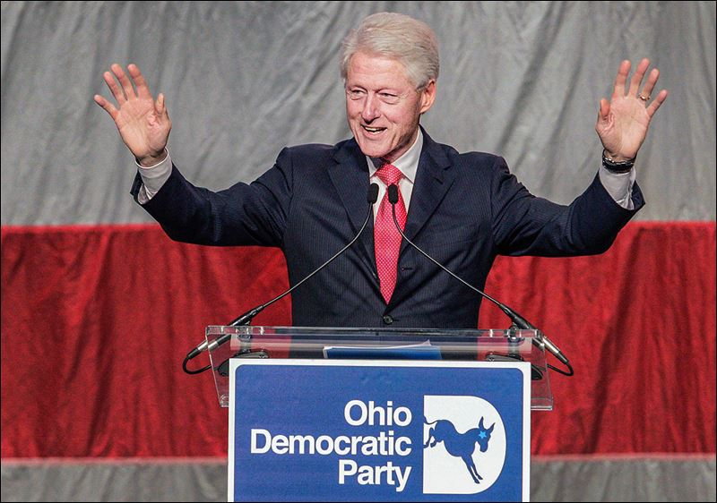 Republicans Trying To Suppress Vote Clinton Says At