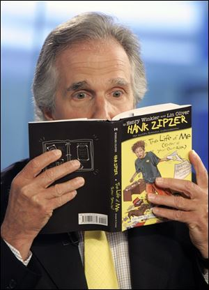 Henry Winkler is co-author of the Hank Zipzer series of books about a boy with a learning disability.