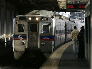 Four hundred workers at a Philadelphia-area regional rail system went on strike Saturday morning, shutting down 13 train lines that carry commuters to the suburbs and Philadelphia International Airport.