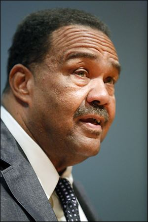 Councilman Jack Ford offers proposals on Monday to fight blight.