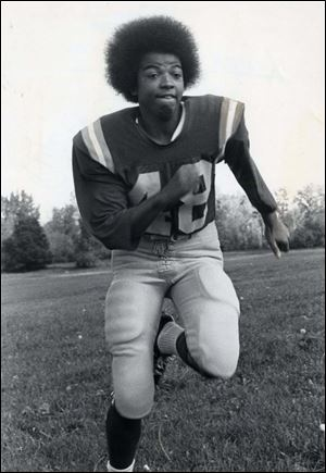 By 1975, Linda Jefferson, running back for the Toledo Troopers of the National Women's Football League, had led the Troopers to 20 straight wins over three seasons and the world championship of women's football.
