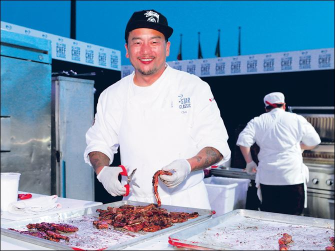 Chef Roy Choi is considered the father of th Chef Roy Choi is considered the father of the food truck movement.