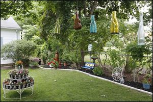 Yvonne Andrzejak's  garden on Dudley Street in Maumee will be among