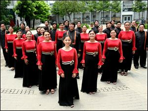The University of Santo Tomas Singers from the Philippines will perform June 27 at St. Joseph Church in Sylvania.