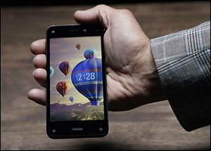 The new Amazon Fire Phone has the ability to render images in 3-D.