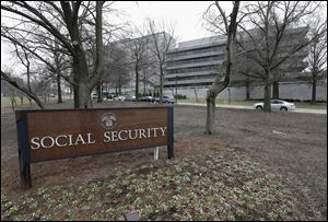 The Social Security Administration's main campus in Woodlawn, Md