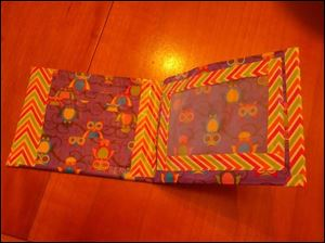 Duct tape wallet by Megan Judson, 10 of Toledo.