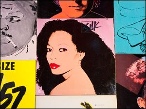 The Cranbrook Art Museum in Bloomfield Hills, Mich., will host the '‍Warhol On Vinyl: The Record Covers, 1949-1987+' exhibit, which opens to the public on Saturday and runs through March 15.