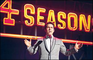 John Lloyd Young, who starred as Frankie Valli on Broadway, reprises his role in the movie.