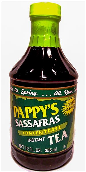 Pappy's Sassafras Tea is made by H&K Products Inc. of Columbus Grove, Ohio.