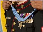 Medal of Honor previously being awarded.