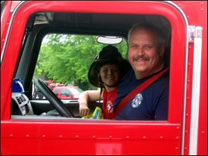 Gallitan County Fire Department Chief Todd Rummel, who was killed in the accident.