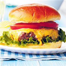 Ohio-s-burger-with-Cincinnati-style-chili-and-cheddar-cheese