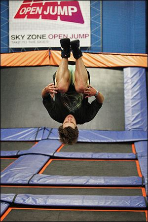 A deal was finalized Thursday to bring Sky Zone to the area.