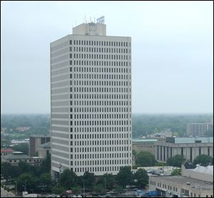 Government Center was completed in 1983 on Jackson Street between Erie and Huron streets. Its $6 million repair