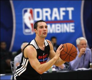 Aaron Craft, who was not selected in the NBA draft Thursday, averaged 9.8 points, 4.7 assists, and 2.5 steals per game as a senior last year.
