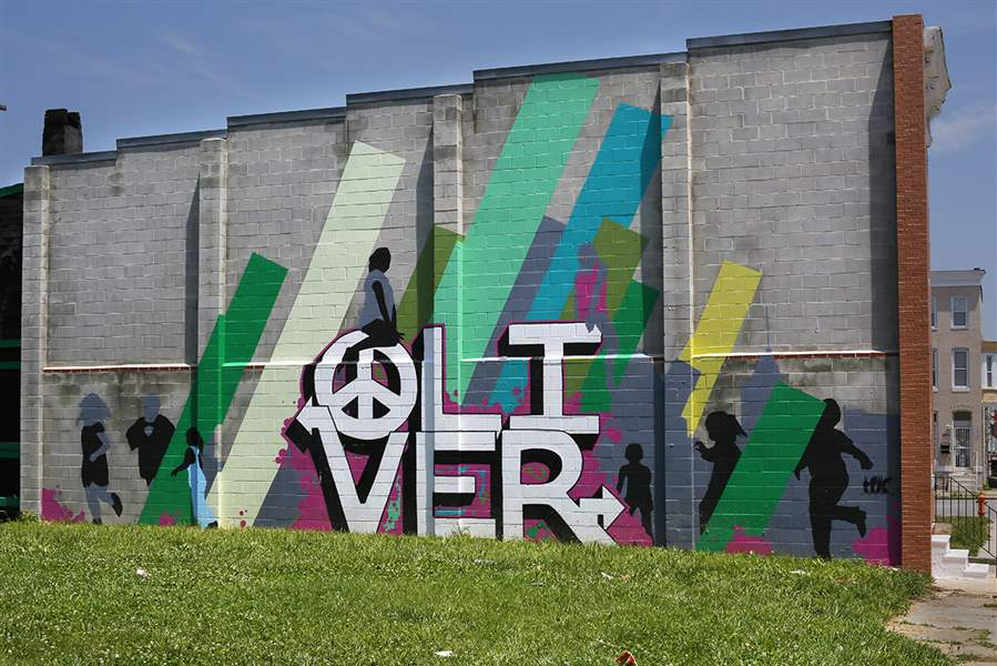 Baltimore s fight against blight could offer guidance to for Baltimore mural program