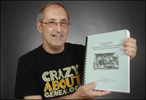 William Priest has written a book about his family genealogy.