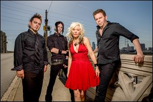 Berlin featuring Terri Nunn will be the headliner at Oregon's Boomfest at the Grove on Friday.